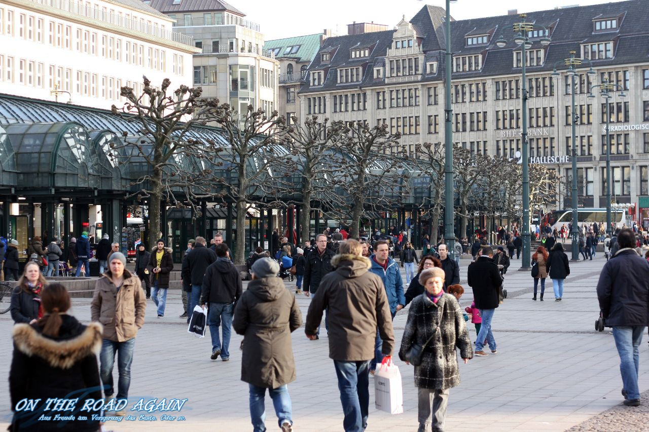 Rathausmarkt in Hamburg