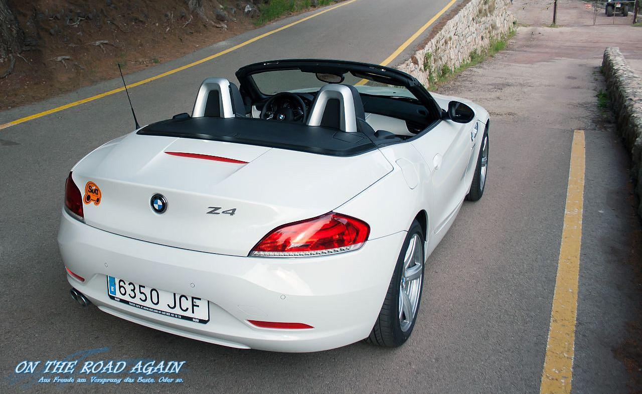 BMW Z4 20i sDrive Cabrio offen