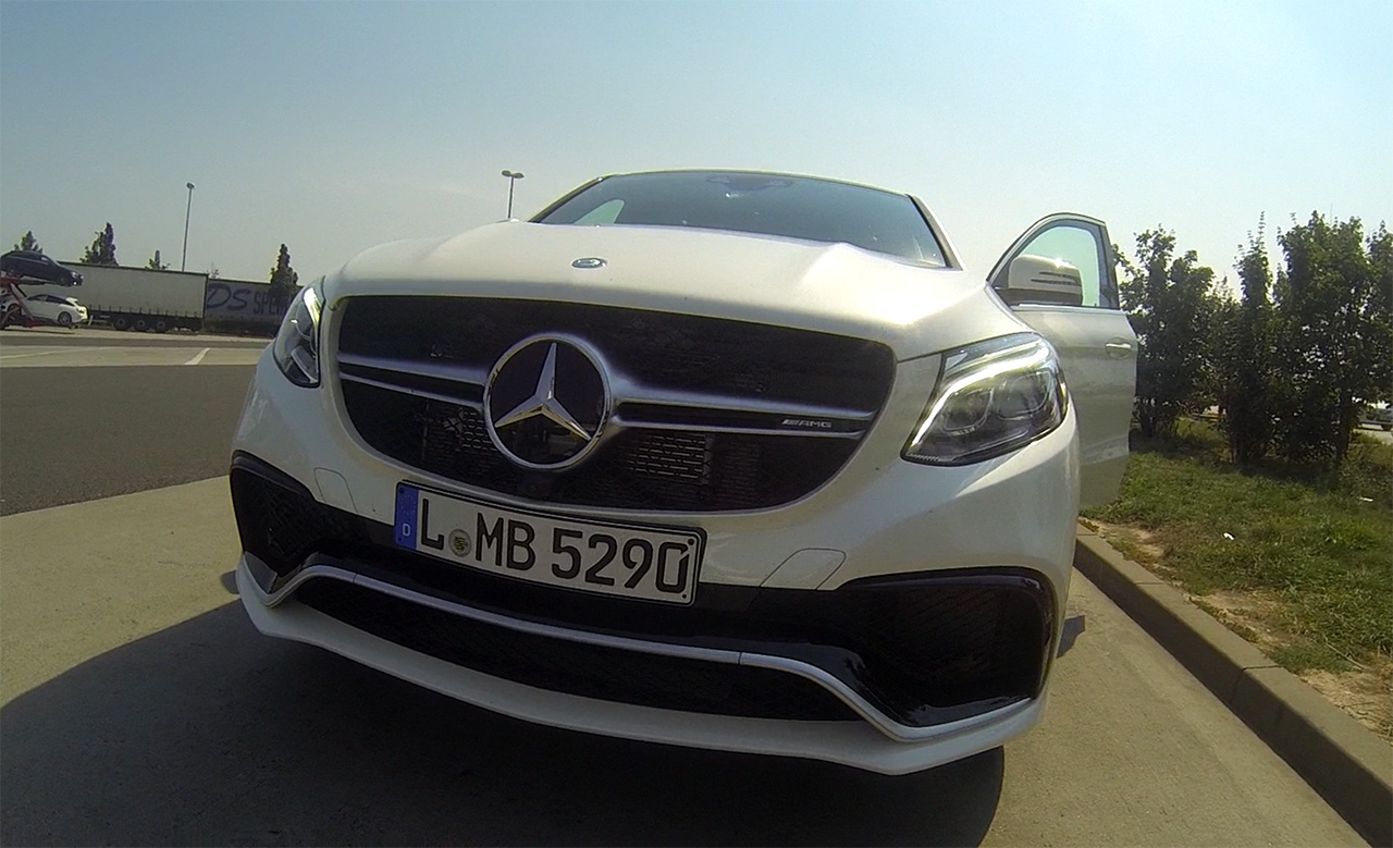 GLE 63 S Front