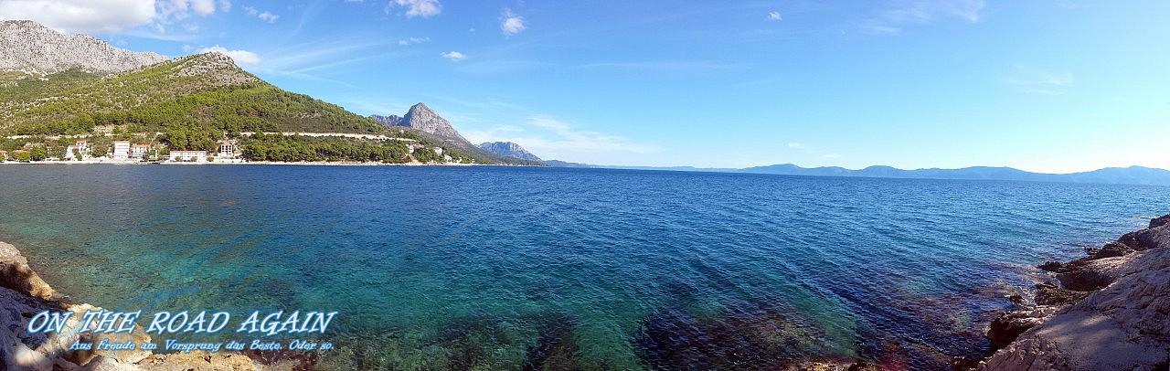 Panorama Drvenik, Kroatien