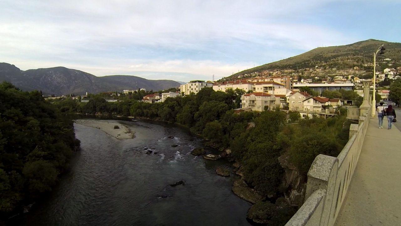 Neretva in Mostar