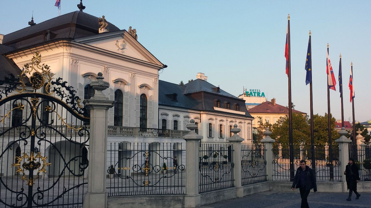 Präsidentenpalat Palais Grassalkovich in Bratislava
