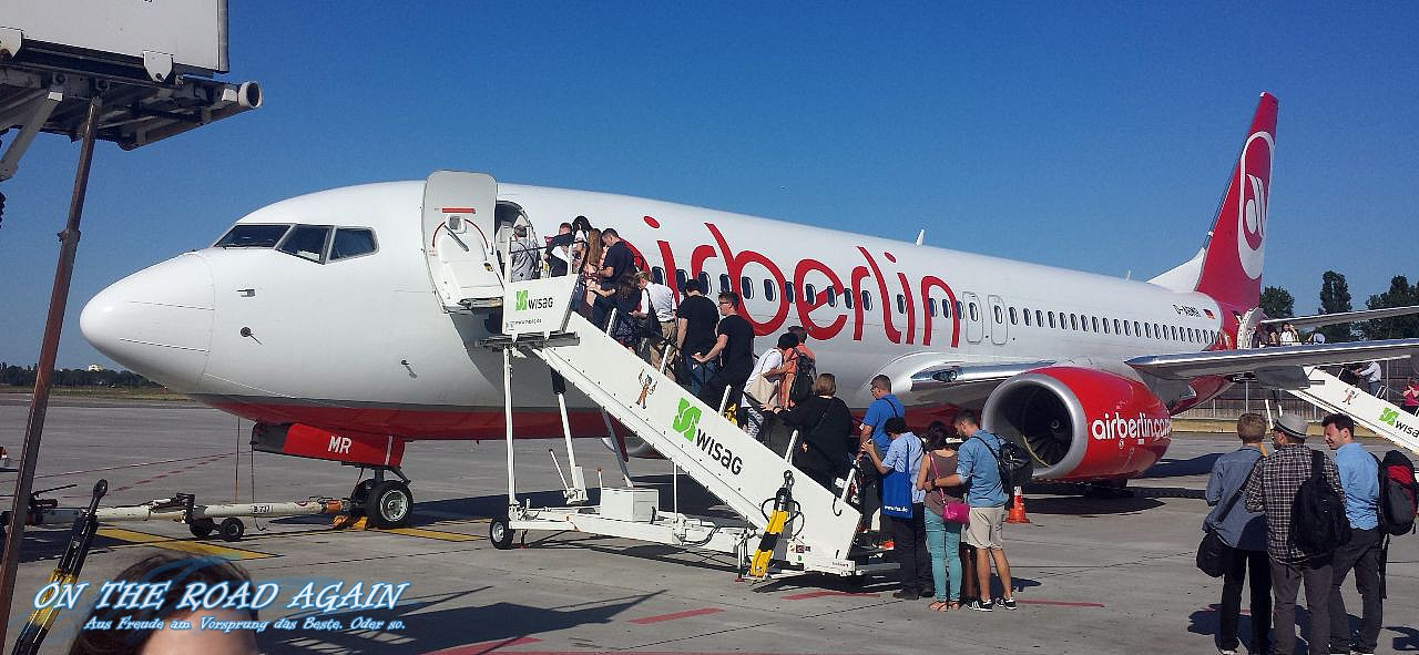 AirBerlin Flug nach Rom