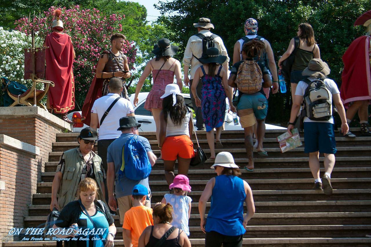 Gladiatoren am Kolosseum