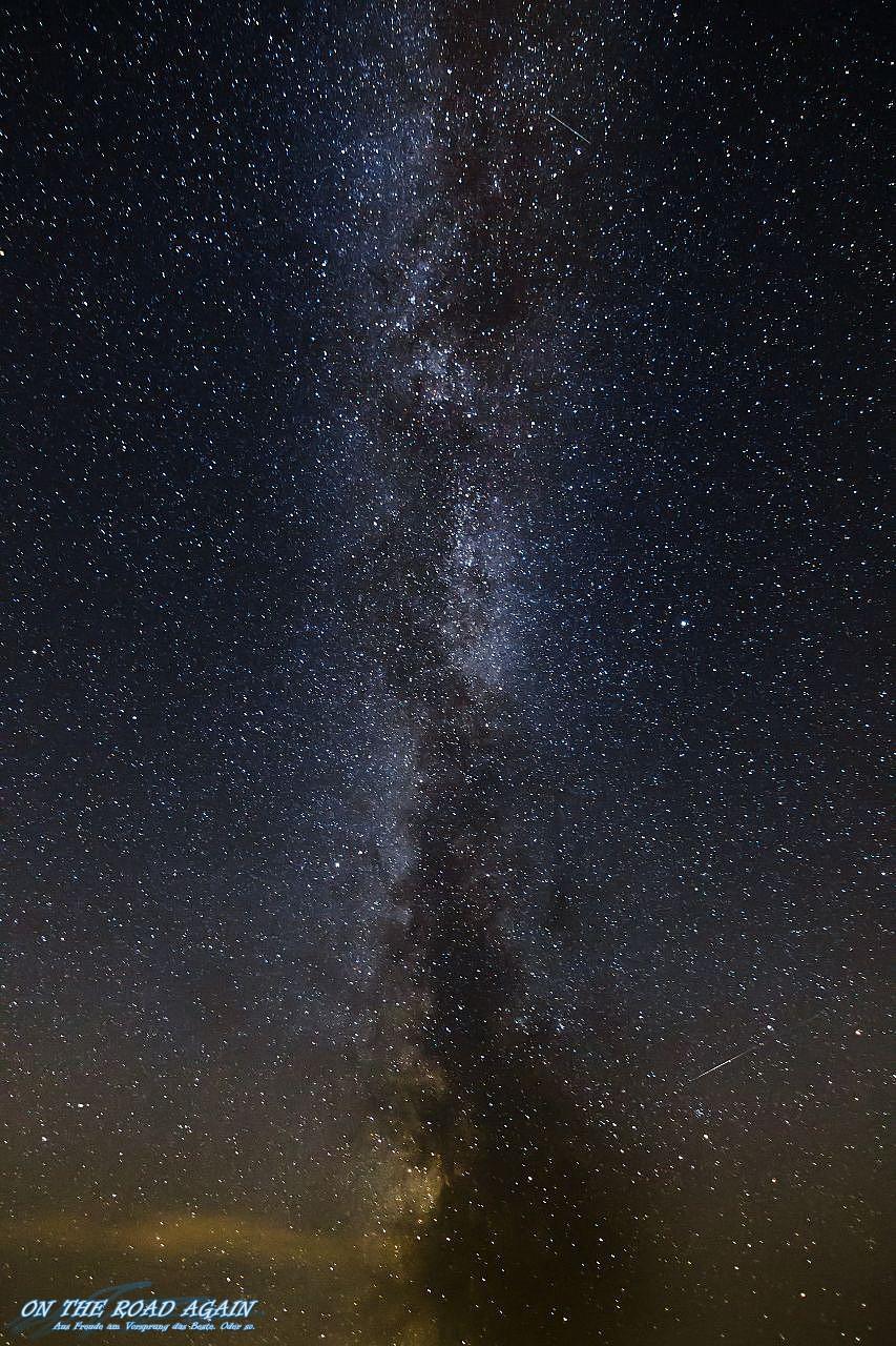 Milchstraße Mitte September von der Wasserkuppe