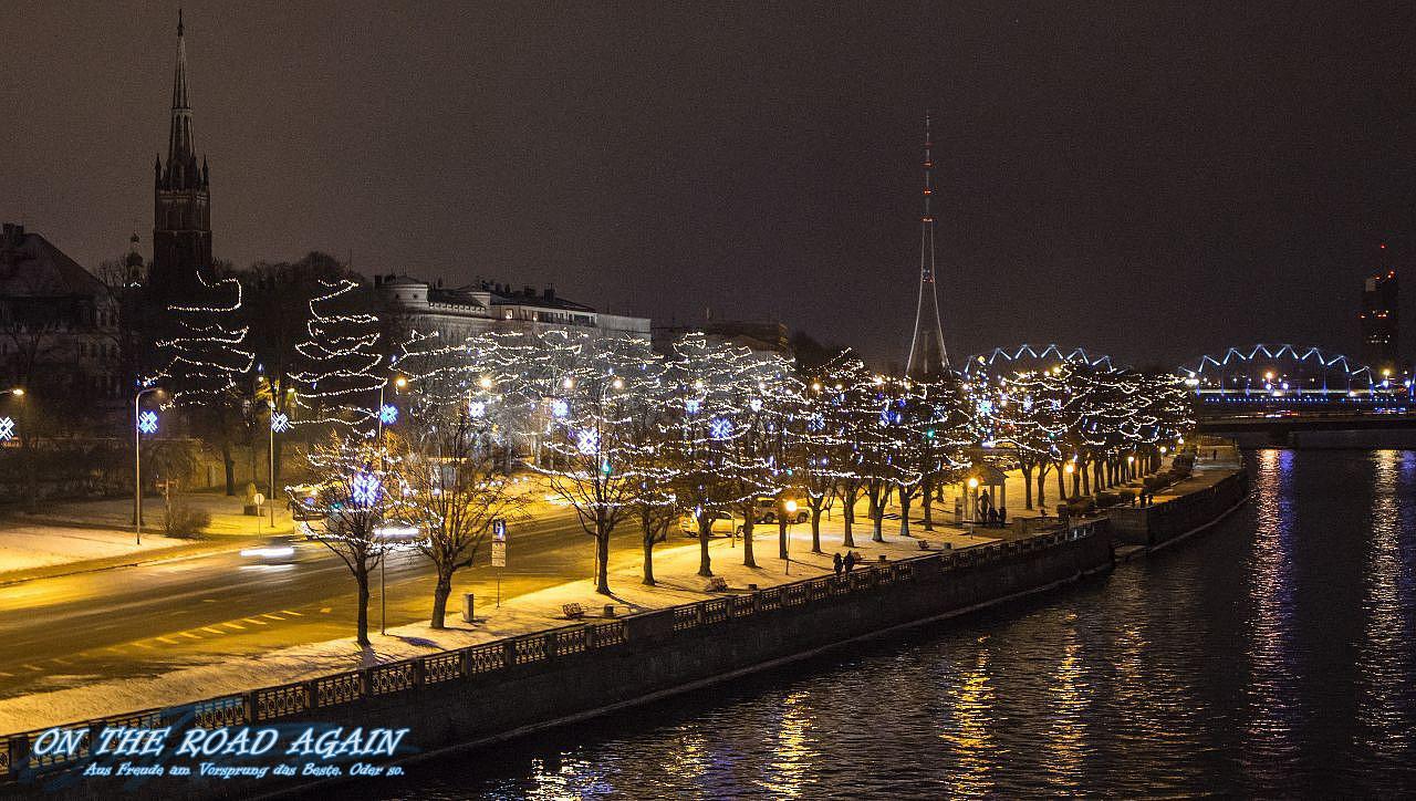 Daugava Ufer Riga