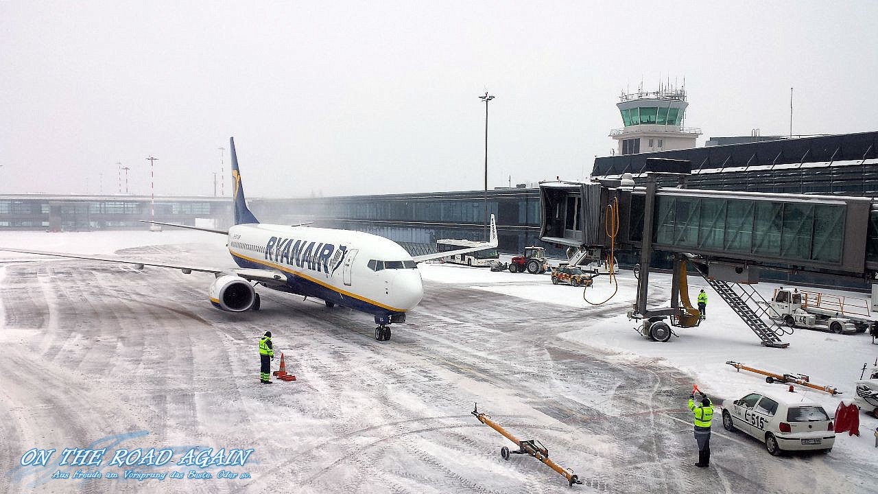 Ryanair Flieger am RIX International Airport Riga