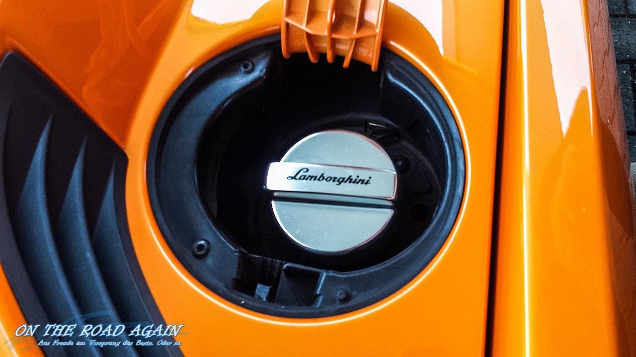 Lamborghini Gallardo LP 560-4 Spyder Tankdeckel