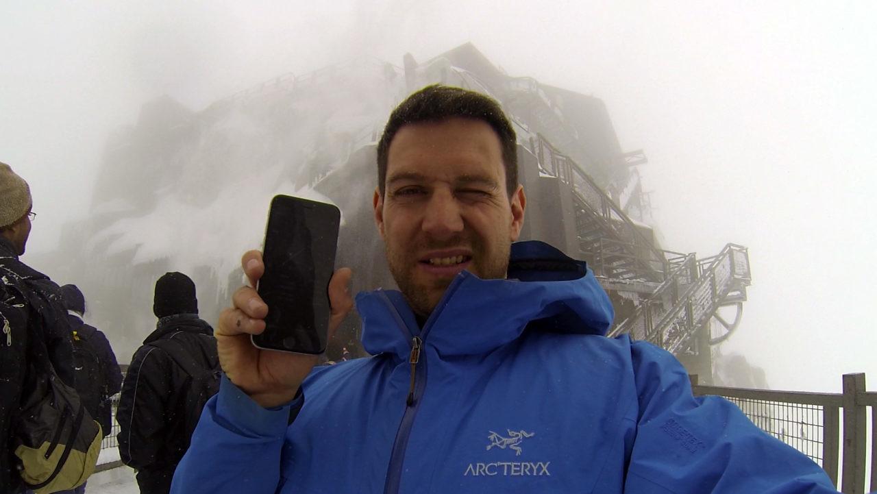 Daniel auf dem Mt. Blanc