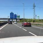 AMG auf der Autobahn