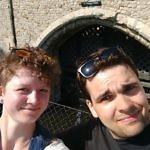 Maik und Maria am Traitors Gate