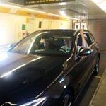 Mercedes im Zug
