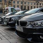 Teilnehmerautos OTRARallye2017 am Ziel