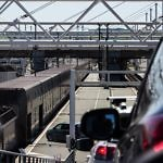 Zug am Channel Tunnel Richtung England