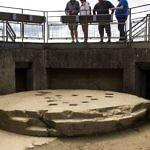 Geschützplattform auf Bunker am Pointe du Hoc