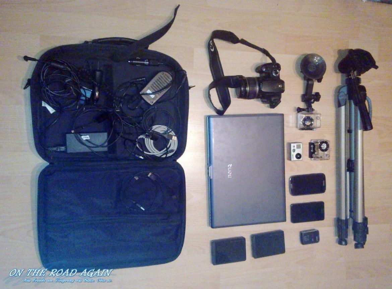 Sommertour 2012 Equipment