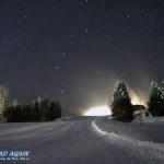 Salzburger Land bei Nacht