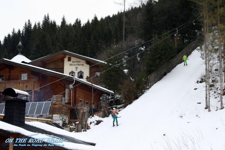 Skilift an der Pension Geierberg, Filzmoos