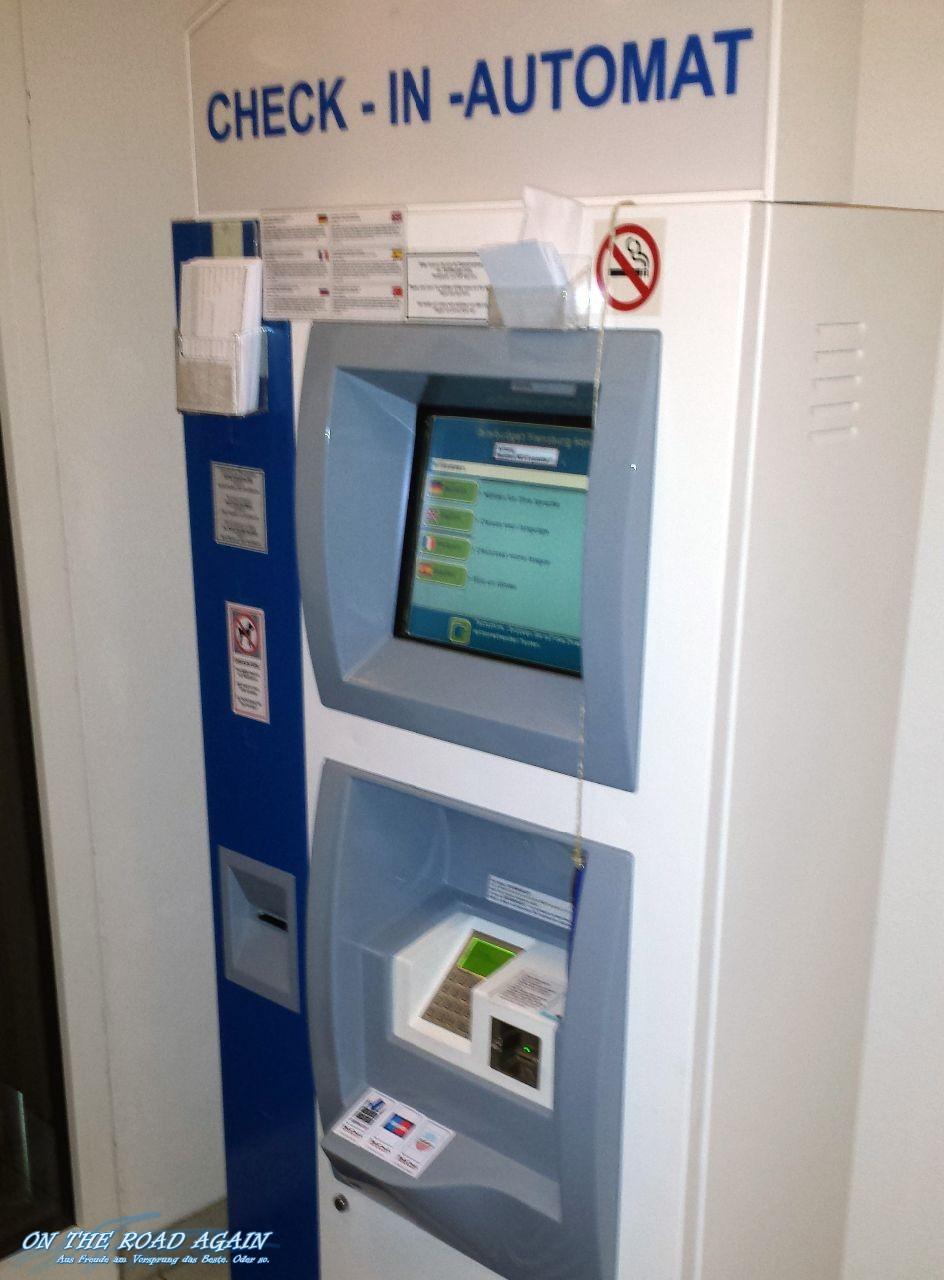 Check-in-Automat Ibis Hotel Handewitt
