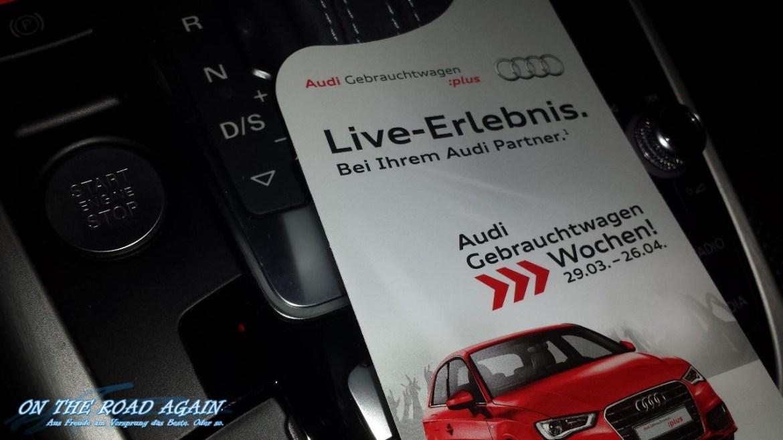 Audi A4 Service Flyer