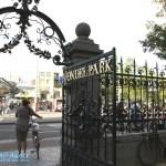 Vondelpark Eingang
