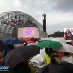 Bühne und Videoleinwand klassik airleben