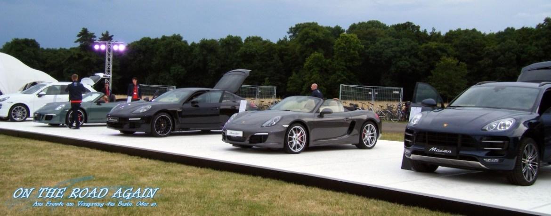 Porsche Fahrzeugausstellung im Rosental Leipzig