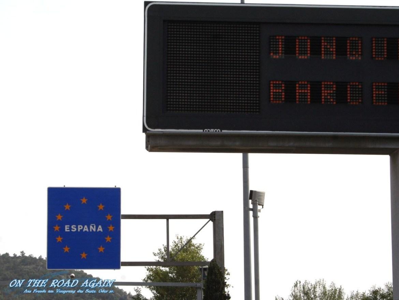 Landesgrenze Spanien