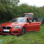 BMW M135i als Campingmobil