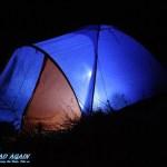 Zelten im Dunkeln