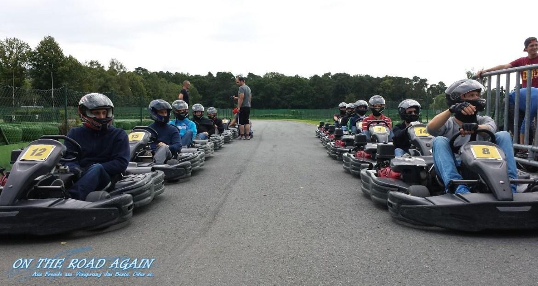 MWT Kartcup 2014 Startaufstellung