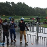 Rennabbruch nach Regen