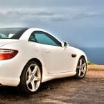 Mercedes-Benz SLK Cabrio mit Meerblick