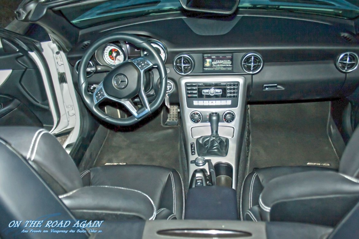 Mercedes-Benz SLK Interieur
