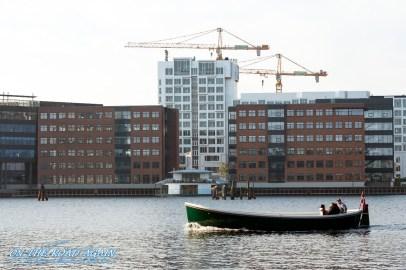 Boot im Kanal von Kopenhagen