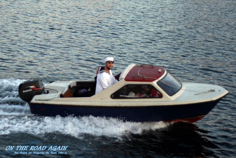 Boot mit Kapitän in Kopenhagen