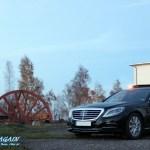 Mercedes-Benz S-Klasse Seitenansicht