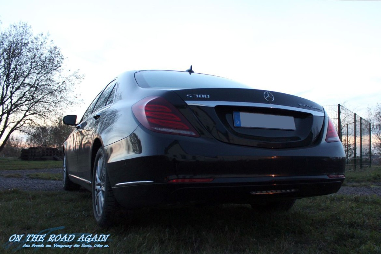 Mercedes-Benz S300 Hybrid Heck