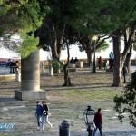 Vorplatz vom Castelo do Sao Jorge
