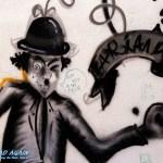 Chaplin Grafiti in Lissabon