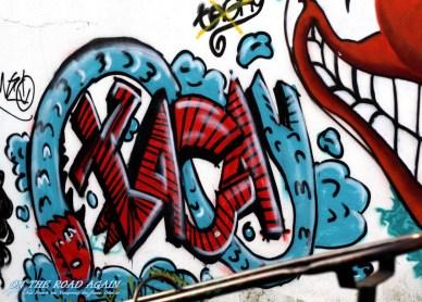 Grafiti Schriftzug Lissabon