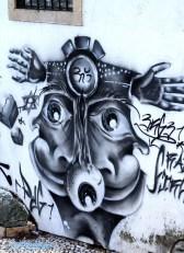 Grafiti in Lissabon