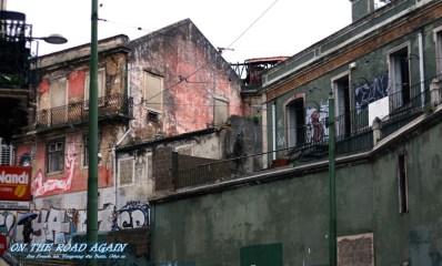 Halbintakte Ruinen in Garca, Lissabon