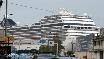 MSC Poesia in Lissabon