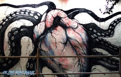 The Heart - Streetart Galery in Lissabon