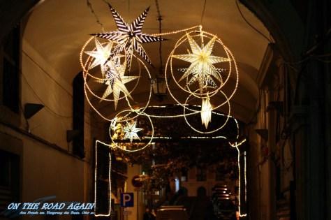 Weihnachtsdeko in Lissabon