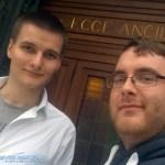 Team GranCoupé an der Kathedrale in Florenz