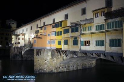 Anbauten Ponte Vecchio in Florenz