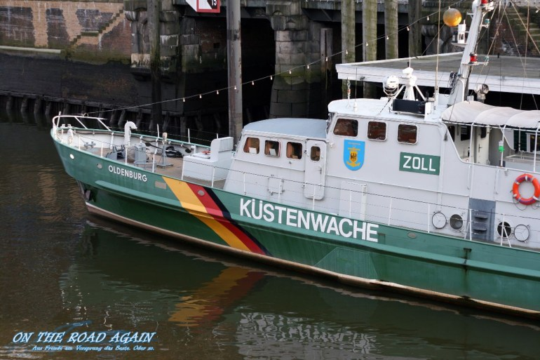 Zollschiff Oldenburg, Zollmuseum Hamburg