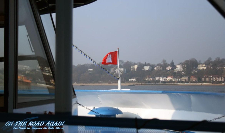 Bootstour mit der Fantasia im Hamburger Hafen